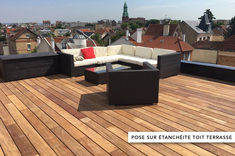 unevis pose étanchéïté toit terrasse
